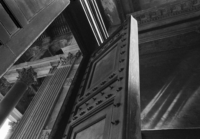 Pantheon Door Open WEB