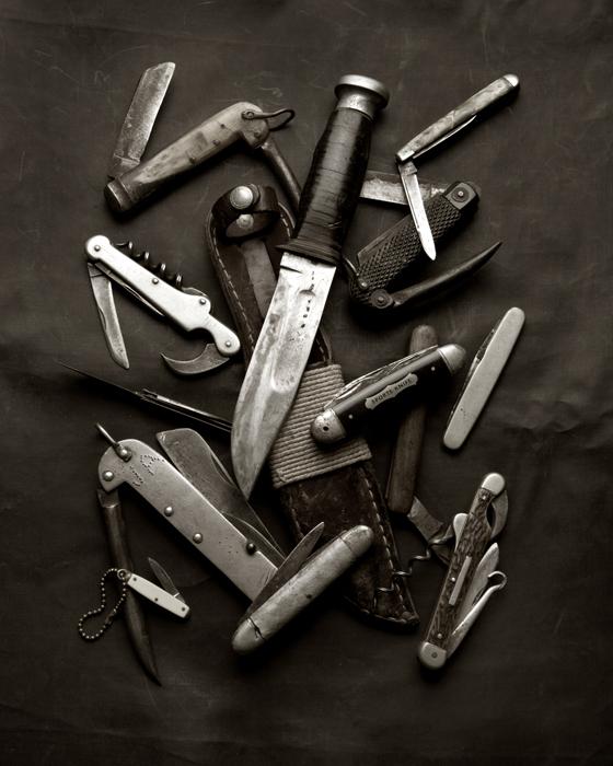 MEMORIA Knives I B&W WEB