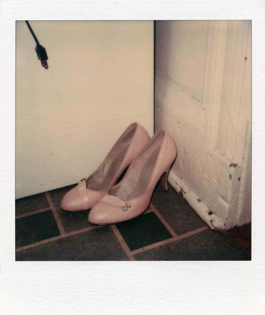 SX 70 Pink Heels