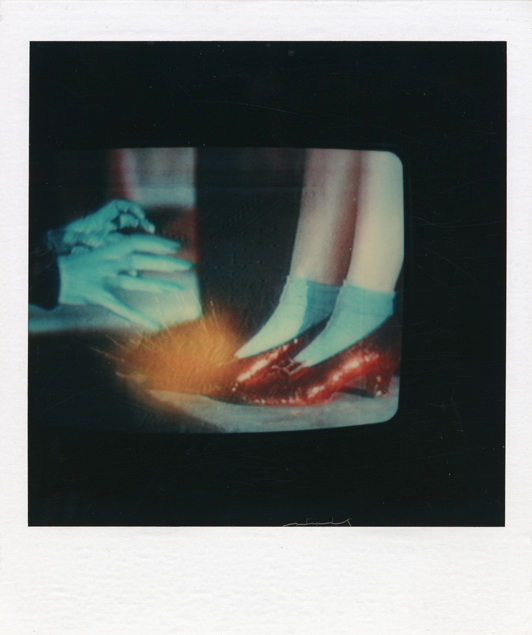 SX 70 Ruby Slippers